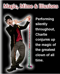 Magic, mime and illusions