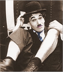 Charlie Chaplin Close-Up